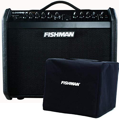 Fishman PRO LBX 5BB Loudbox Mini, Special Edition Black on Black with Fishman Loudbox Mini Cover