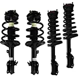 Detroit Axle - New Front & Rear Driver & Passenger Side Complete Strut & Spring Assembly for 1997-2001 Toyota Camry 3.0L - 1997-2003 Toyota Avalon - [1997-2001 Lexus ES300]