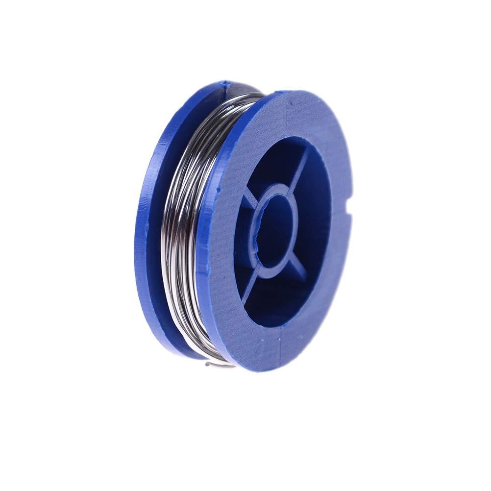 Jammas Rosin Welding Iron Wire Reel 0.7mm 63/37 Tin Lead Line Core Flux Solder Soldering 1rolls 1.7m