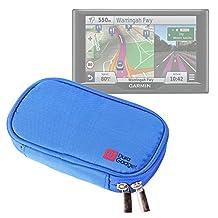 DURAGADGET Premium Protective GPS Case in Memory Foam with Dual Zips for the NEW Garmin nuvi 57 LM, 57LMT, 58LMT, 67LMT, 68LMT & Garmin Camper 660LMT-D