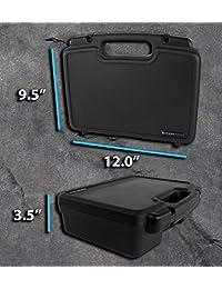 casematix Proyector portátil funda rígida con interior Espuma diced personalizable y asa de transporte   Compatible con Sony Pico Mobile Projector mpcl1