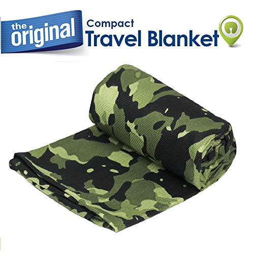 - Cloudz Compact Travel Blanket - Camouflage