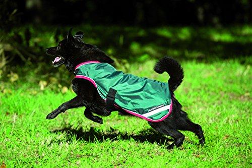 Rambo Waterproof Dog Blanket 100g Large Green/Red