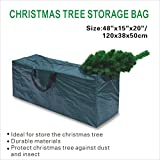 BenefitUSA Heavy Duty Artificial Christmas Tree Storage Bag for Clean Up Holiday Up To 8' Bag, Large, Green
