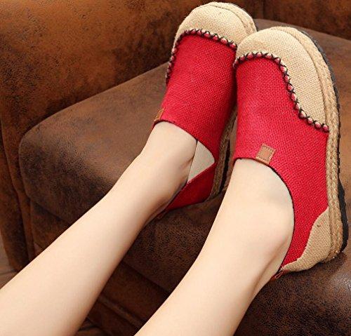 Scarpe Satuki Ricamate Per Donna, Scarpe Basse A Fiori Mocassini Casual Artigianali In Stile Cinese