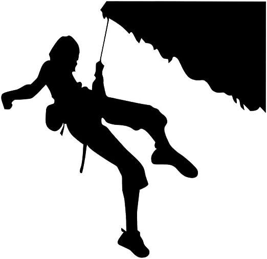 lyclff Deportes Extremos Pegatinas De Pared Escalador De Roca ...