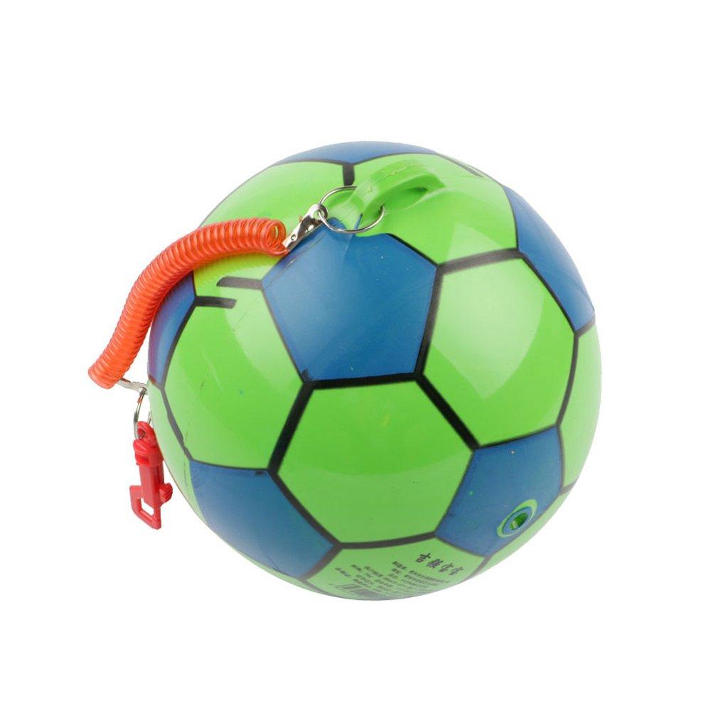 Cansenty Balón de fútbol inflable con cuerda, para deportes de ...