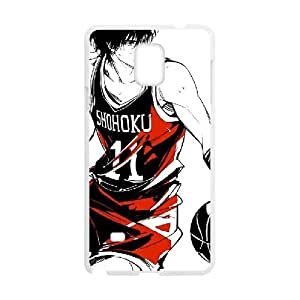 Slam Dunk Samsung Galaxy Note 4 Cell Phone Case White MSY198321AEW