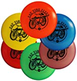 Wham-O Mini Disc 6 Pack Frisbee Golf Markers - Fat Tire Design