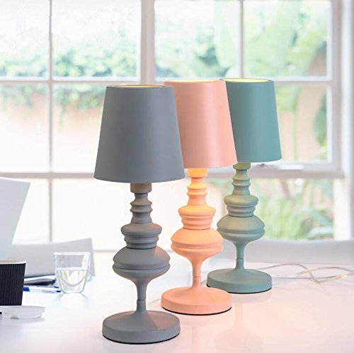 Adjustable Clip-on Lamp Lampshade With LED Bulb (Pink) - 7