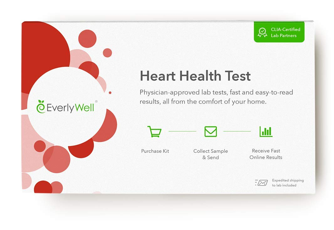 EverlyWell - Heart Health Test - Understand Your Risk Factors for Heart Disease (Not Available in NY, NJ, RI)