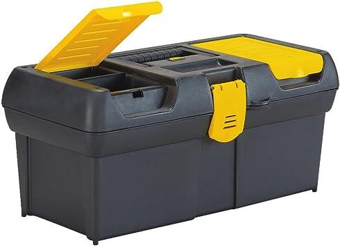 Stanley 016011R Series 2000 Caja de herramientas de 16 pulgadas: Amazon.es: Bricolaje y herramientas