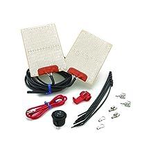 Heat Demon 210007 ATV Grip Heater Kit with Round Rocker Switch