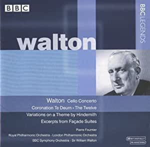 Cello Concerto / Coronation Te Deum / Facade Suite