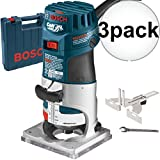 bosch colt router - Bosch PR20EVSK-RT 1HP Colt VS Electronic Palm Router Kit 3-Pack