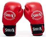 Boxing Gloves SHIHAN-OLYMPIC Spar Gloves 12oz (Red) Genuine Cow Hide Leather