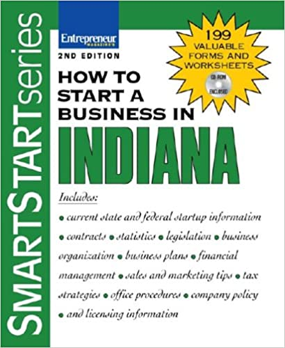Book How to Start a Business in Indiana (Smartstart)