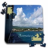 """Image of View Of Jamaica Shoreline From Cruise Ship Puzzle is a fun and enjoyable way to pass the time. This 70 piece jigsaw puzzle measures 10"""" x 10"""" when assembled and features a back stand for display. Allowing you the choice to leave and ..."""