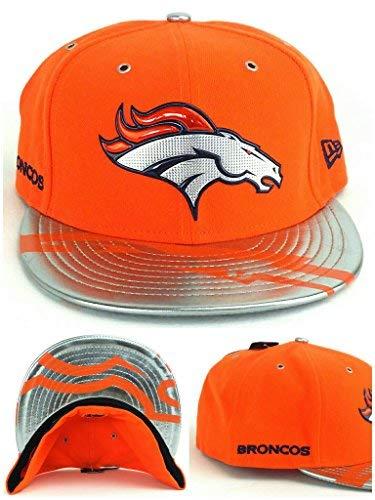 NFL Denver Broncos 2017 Draft Spotlight 59FIFTY Fitted Cap, Size 7 7/8, Orange