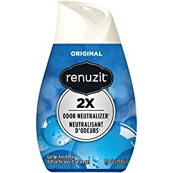 Renuzit 03659CT Adjustables Air Freshener, Super Odor Killerz, Unscented, Solid, 7 oz (Case of 12)