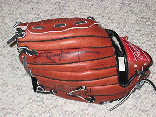 Tony Gwynn Autographed Signed Youth Glove San Diego Padres Memorabilia JSA Hof
