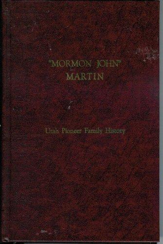 Mormon John Martin: