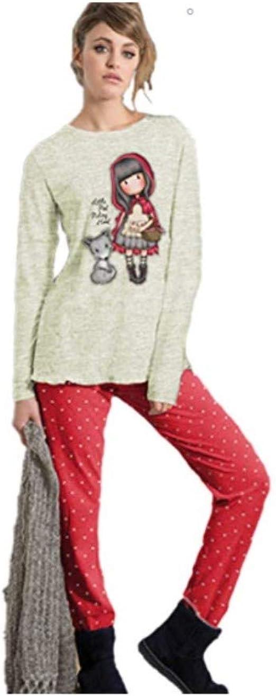 SANTORO GORJUSS - Pijama - para Mujer 14 años: Amazon.es ...