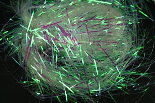 CLEAR Metallic Iridescent SHRED ( 5 PACKS ) BULK BUY!!! 1.5MM ( 2 OZ EACH) Gift Box Filler / Easter Basket Filler (10 OZ Total) by DPC