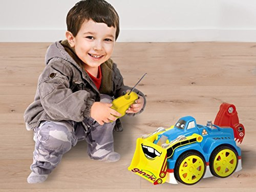 Ginzick Super Fun Remote Control Assembly Construction Truck with Light and