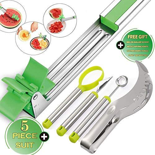 5 Pack of Watermelon Windmill Cutter,Watermelon Slicer Cutter,Shape Tool for Fruit salad,Fruit Knives,fruit slicer,melon slicer