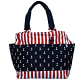 Red, White and Blue Anchor Everything Tote Bag