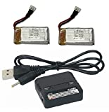 Traxxas QR-1 Battery & Charger 3.7v 350mAh 25c LiPo QuadCopter Upgrade FAST - FAST FREE SHIPPING FROM Orlando - Florida USA!