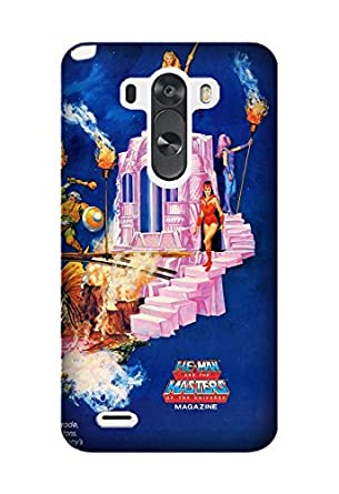 sports shoes 94a62 315d5 LG G3 Case, Masters Of The Universe Cartoon Pattern Protective Hard ...