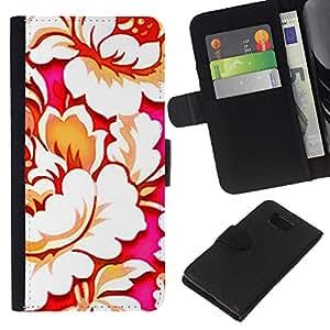 Wallpaper Arte Begonia Flor Bloom- la tarjeta de Crédito Slots PU Funda de cuero Monedero caso cubierta de piel Para Samsung ALPHA G850