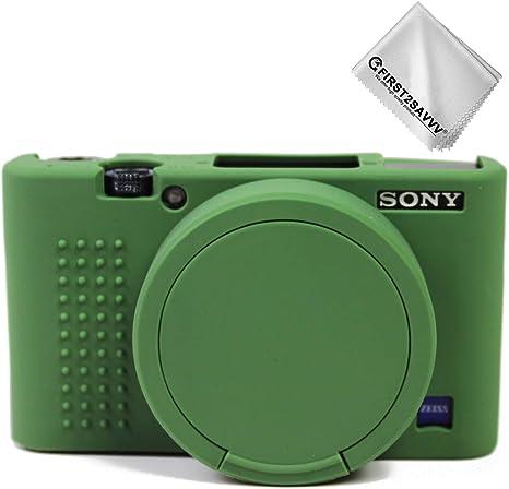 Verde Cuerpo Completo Caucho de TPU Funda Estuche Silicona para cámara para Sony DSC RX100 VII RX100 M7: Amazon.es: Electrónica