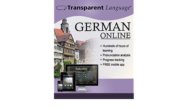 Amazon Transparent Language Online