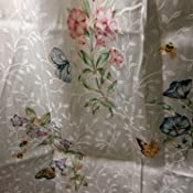 Amazon Com Lenox Butterfly Meadow Bath Rug Home Amp Kitchen