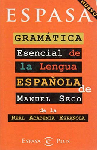 Gramatica esencial de la lengua espan?ola