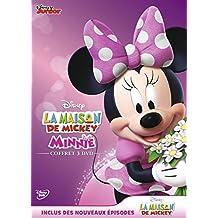 La Maison de Mickey - Minnie: J'aime Minnie + Le conte de fées de Minnie + La collection hiver de Minnie