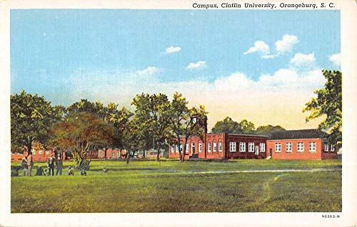 Orangeburg South Carolina Claflin University Campus Antique Postcard K99370