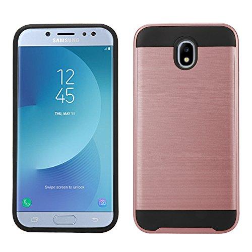 Slim Armor TPU Case for Samsung Galaxy J5 (Gold) - 2
