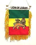 Rasta Style Lion of Judah Flag Small car Window Design Rastafarian Style For Sale