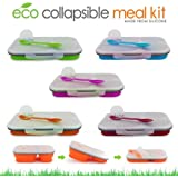 Eco Double Silicon Lunch Box