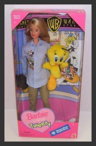 warner-brothers-studio-store-barbie-loves-tweety-bird-blonde-doll