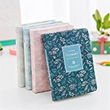 Hardcover Weekly Plan Notebook Office School Schedule Stationery Flowery Planner Organizer Student Cute Portable Diary (3Pack Random Color)