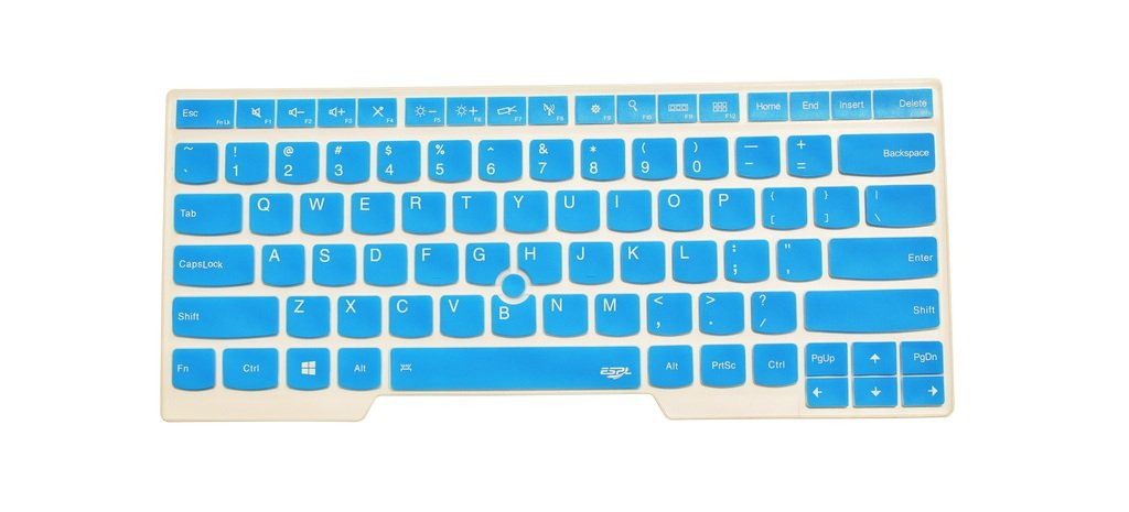 new Casol - Silicone Colorful Keyboard Cover Protector for Lenovo