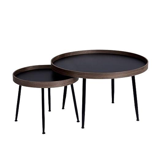 Mesa pequeña simple Conjunto de mesa auxiliar moderno Mesa ...