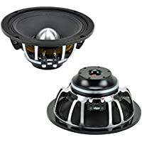 Audio Legion MG8 Car Audio Midbass 8 Midrange 300W Peak Stereo Speaker Pair