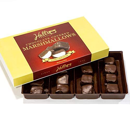 Hall's Chocolate Covered Marshmallows, 8 oz (Dark Chocolate)