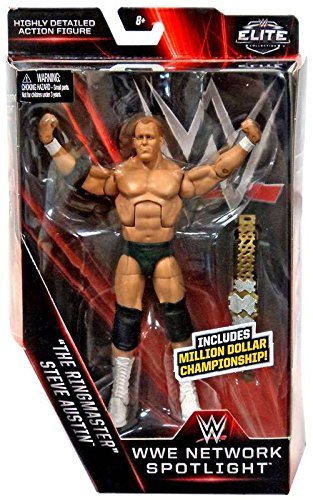WWE, Elite Collection, WWE Network Spotlight, The Ringmaster Steve Austin Action Figure (Stone Cold Steve Austin Hall Of Fame Figure)